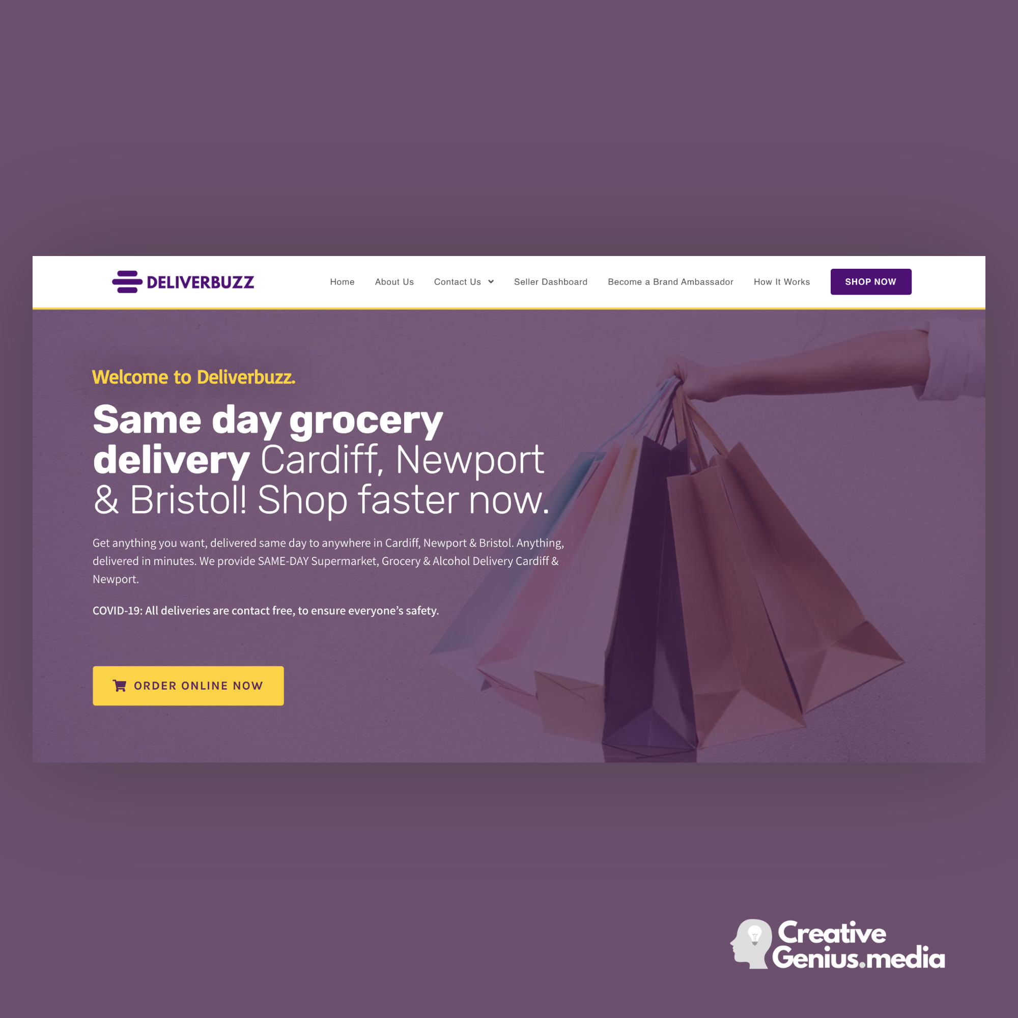 Deliverbuzz-Site